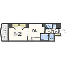 ノルデンタワー天神橋[9階]の間取り