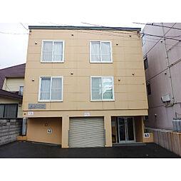 北海道札幌市白石区栄通17丁目の賃貸アパートの外観