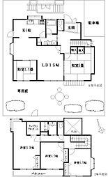 [一戸建] 神奈川県鎌倉市手広4丁目 の賃貸【/】の間取り