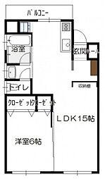 高須賀ビル[2階]の間取り