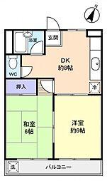 EAGLE・HOUSE[2階]の間取り