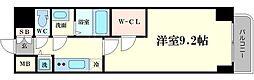 プレサンス江戸堀[7階]の間取り