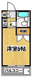 クニヤスNO1[2階]の間取り