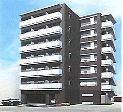 大阪府高槻市別所新町の賃貸マンションの外観