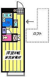 埼玉県さいたま市見沼区春岡3丁目の賃貸マンションの間取り