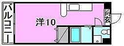 枝松ローズパレス[204 号室号室]の間取り