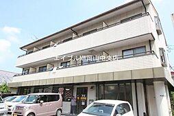 岡山県岡山市中区西川原1の賃貸アパートの外観