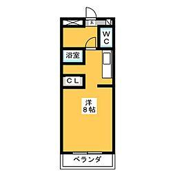 エクセル塩釜3[1階]の間取り