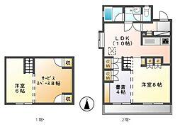 荘苑富士見台[1階]の間取り