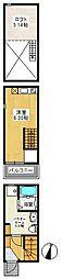 (仮称)アースクエイク桜ヶ丘南棟[101号室]の間取り