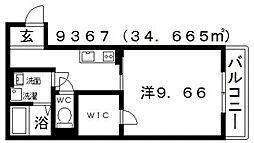 古市4丁目新築マンション[303号室号室]の間取り