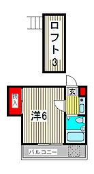 エニーセ南1号棟[1階]の間取り