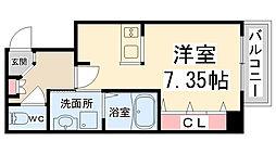 (仮称)ラフォート・キセラI[203号室]の間取り