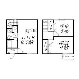 [一戸建] 静岡県浜松市中区下池川町 の賃貸【/】の間取り