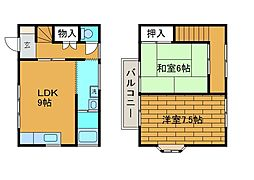 [テラスハウス] 東京都町田市森野3丁目 の賃貸【東京都 / 町田市】の間取り