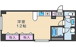 大阪府大阪市北区中崎西4の賃貸マンションの間取り