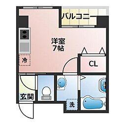 (仮称)船橋市宮本3丁目共同住宅[403号室]の間取り