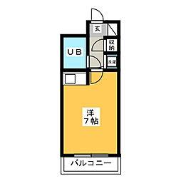朝日プラザ博多II[5階]の間取り