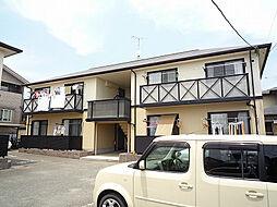 福岡県糟屋郡粕屋町花ヶ浦1丁目の賃貸アパートの外観