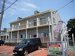 福岡県糟屋郡粕屋町大字長者原の賃貸アパートの外観