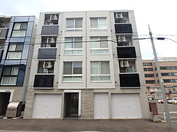 北海道札幌市豊平区豊平四条8丁目の賃貸マンションの外観
