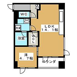 Filer鴨川邸[4階]の間取り