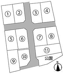甲府市下鍛冶屋町11区画分譲地