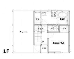 Ko olina yoshimura[B-4号室]の間取り