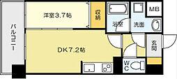 ルネッサンス21小倉東[4階]の間取り