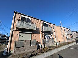 千葉県四街道市めいわ1丁目の賃貸アパートの外観