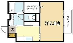 モナリエ砂田[2階]の間取り