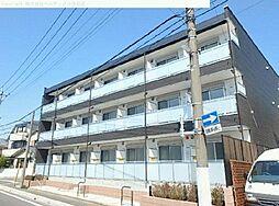 埼玉県川口市芝中田の賃貸マンションの外観