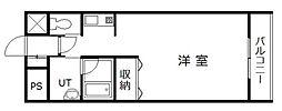 サテラ永山[611号室]の間取り