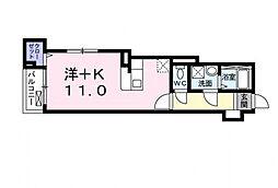 メゾン オリエント[2階]の間取り