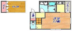 グランメール魚崎[1階]の間取り