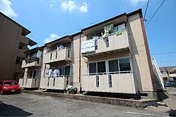 愛知県名古屋市中川区供米田2丁目の賃貸アパートの外観