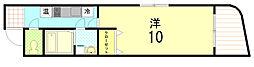 米田ビル2[201号室]の間取り