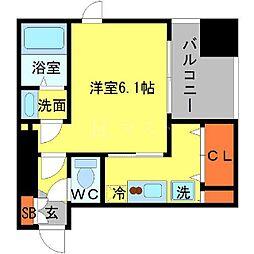 ロイヤルレジデンス梅田FRONT[4階]の間取り