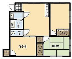 メゾンAYUMI[301号室]の間取り
