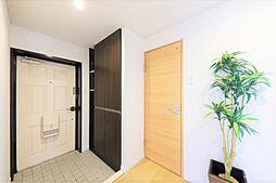 玄関リフォーム完了後の玄関です。建具を新しくしたことで、気持ちの良い空間に生まれ変わりました。