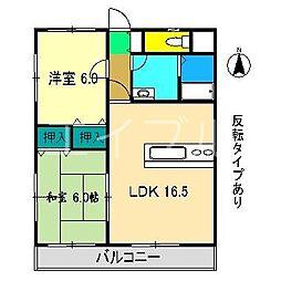 Light house[3階]の間取り