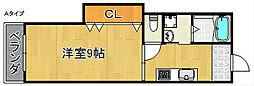CITY LIVE 26[3階]の間取り