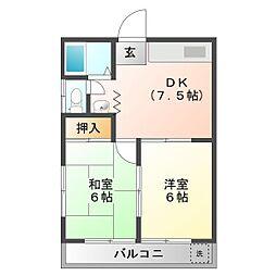 みずこマンション[2階]の間取り