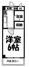 センチュリーハイツ三徳[3階]の間取り