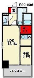 TAKADA.BLD[2階]の間取り