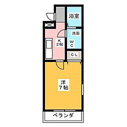 助信モンドイースト[3階]の間取り