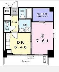 高松琴平電気鉄道長尾線 花園駅 徒歩4分の賃貸マンション 1階1DKの間取り