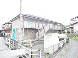 広島県東広島市八本松町飯田の賃貸アパートの外観