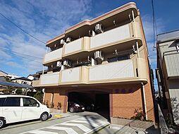 静岡県磐田市中泉の賃貸マンションの外観