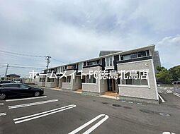 JR高徳線 徳島駅 4.4kmの賃貸アパート